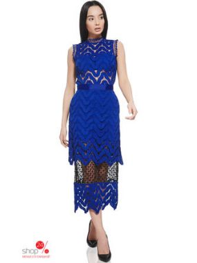 Платье Nothing but love, цвет синий, черный