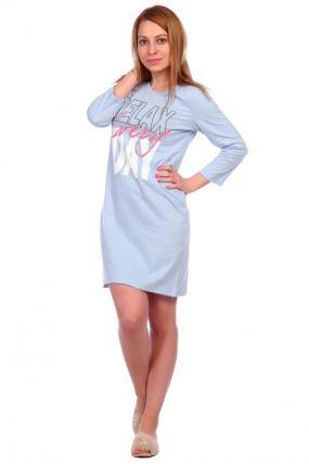 Ночная сорочка Сьюзи (голубая)