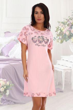 Ночная сорочка Грильяж (розовая)
