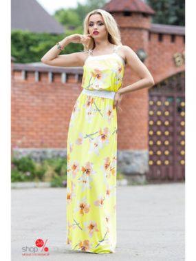 Платье Seventeen, цвет желтый