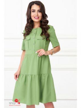 Платье Bellovera, цвет зеленый