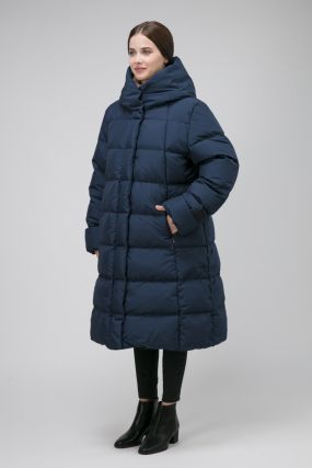 Финский пуховик для зимы Joutsen с капюшоном