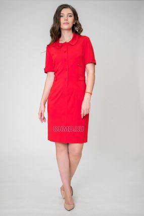 Платье POTIS&VERSO Пацифик 3269 цвет красный
