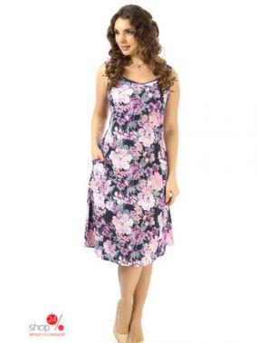 Платье Алтекс, цвет мультиколор