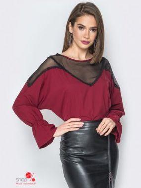 Блуза Dresess, цвет бордовый