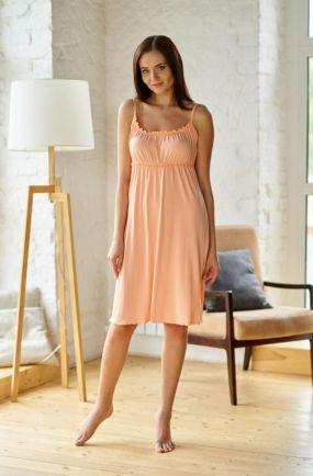 Ночная сорочка Венера (персиковая)