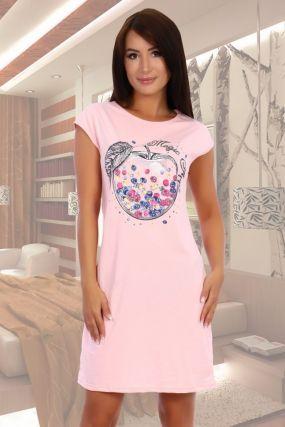 Ночная сорочка Проказница (розовая)