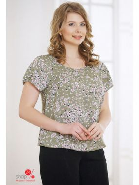 Блуза Horosha, цвет хаки