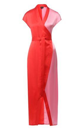 Шелковое платье с поясом NATAYAKIM