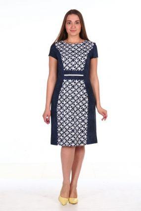 Платье вискозное Минна
