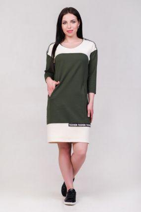 Платье трикотажное Мина