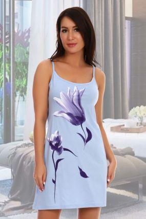 Ночная сорочка Патти (голубая)