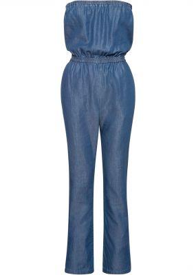 Комбинезон бандо джинсовый
