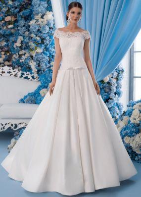 Свадебное платье с заниженной талией SDV013