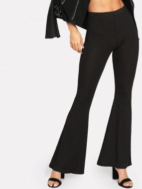 Модные брюки в рубчик