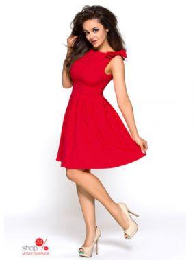 Платье KarteS-Moda, цвет красный