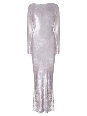 Приталенное платье-макси