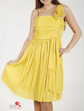 Платье Lakbi, цвет желтый