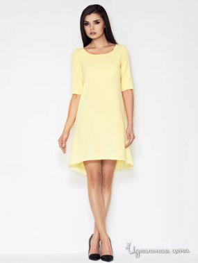 Платье Awama, цвет желтый