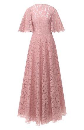 Кружевное платье-макси Valentino