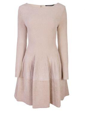 Трикотажное платье-лапша