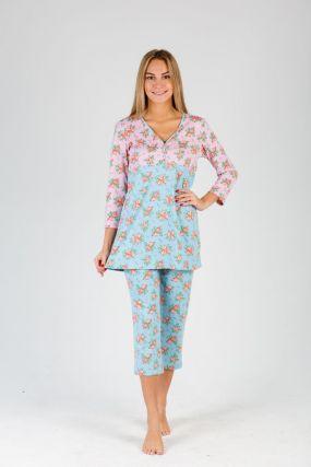 Пижама женская iv19890 (бриджи)