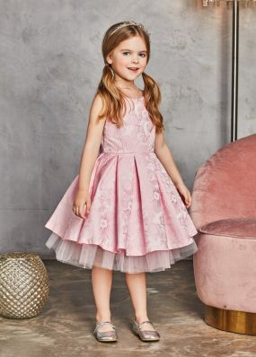 Платье из жаккарда BAB014D