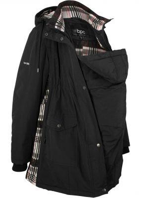 Куртка для беременных, клетчатая подкладка