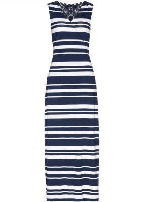 Платье с кружевной отделкой, трикотаж