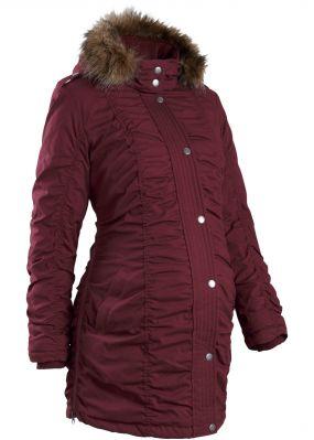 Зимняя куртка для будущих мам, регулируемая по ширине