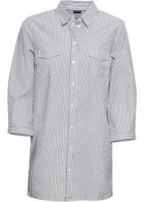 Блузка в полоску с люрексом