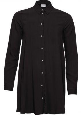 Блузка на пуговицах-бусинах