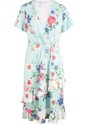 Платье с запахом, дизайн Maite Kelly