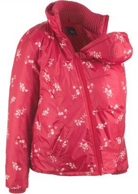 Куртка с цветочным принтом для беременных