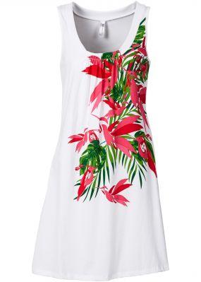 Пляжное платье А-силуэта