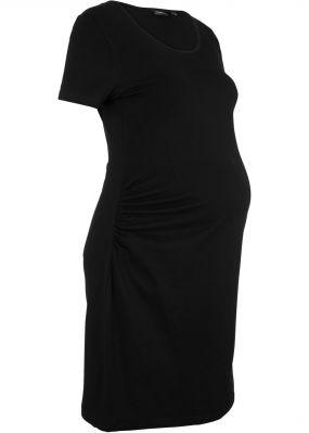 Платье из трикотажа для будущих мам