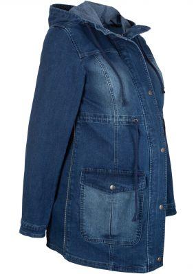 Парка джинсовая для беременных