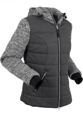 Куртка с трикотажной подкладкой и флисом