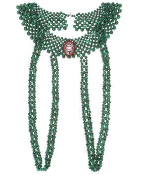 Ожерелье с бусинами