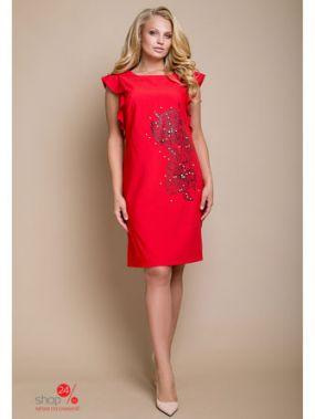 Платье LUZANA, цвет красный