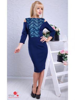 Платье LUZANA, цвет темно-синий