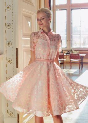 Коктейльное платье с вшитым подъюбником ND158B