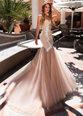 Свадебное платье силуэта русалка SDV006
