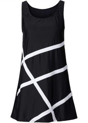 Пляжное платье из материала для купальников