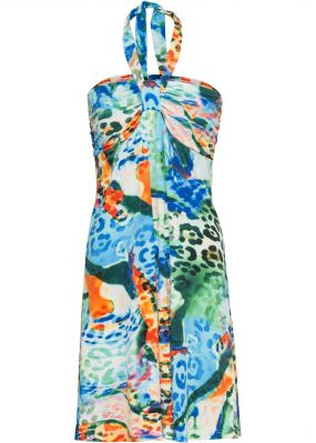 Платье с ярким рисунком