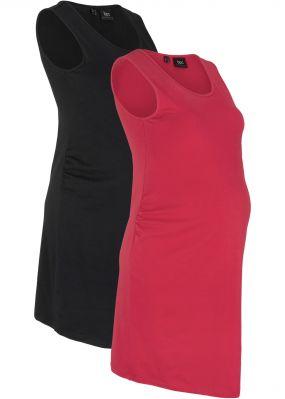 Платье для беременных (2 шт.), трикотаж