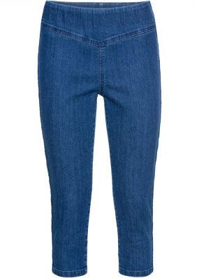 Капри джинсовые стрейч