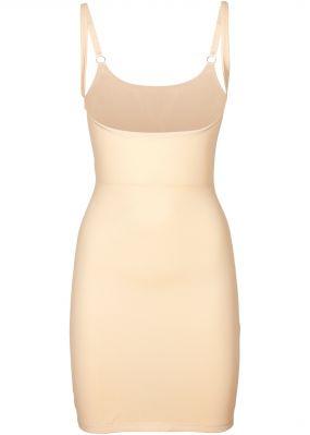 Моделирующее фигуру платье на регулируемых беретлях