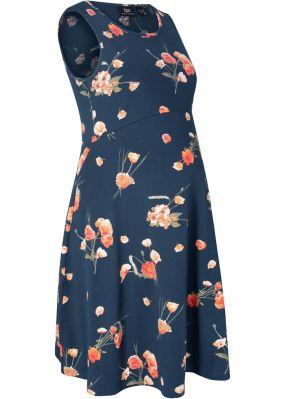 Платье с цветочным принтом для беременных