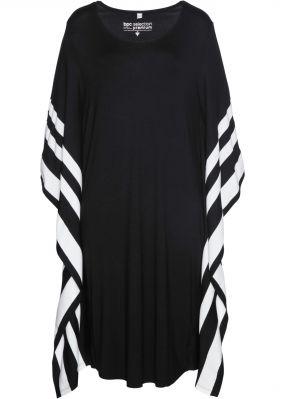 Платье-кафтан из трикотажа